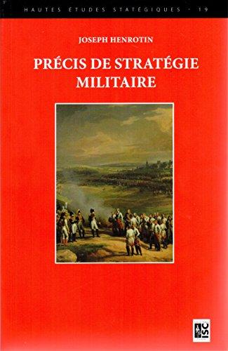 Précis de stratégie militaire