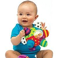 Preisvergleich für Baby-lustiges Spielzeug Baby Niedlichen Plüsch Weiche Tuch Hand Rasseln Glocke Kinder Funny Ball Spielzeug Geschenk