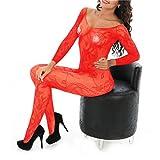 Ctian Damen Unterwäschen, Erotik Dessous Set Reizvolle Strapsen Reizwäsche Transparent Spitze Lingerie Unterwäsche Bodysuit Nachtwäsche Dessous