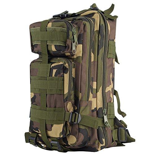 ab0f778e589cb0 OUTAD Zaino Militare Tattico 30L in Oxford, 3P Zaino Molle Campeggio  Escursionismo Zaino d'