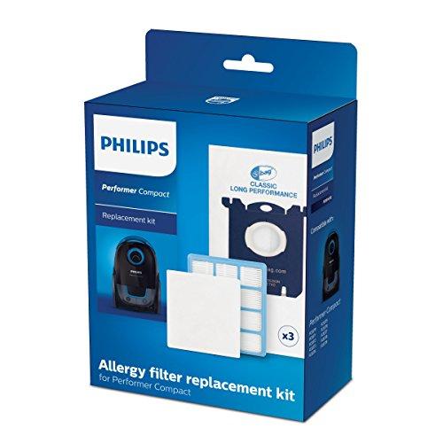 Philips FC8074/01 Ersatzset für Performer Compact-Reihe Staubsauger