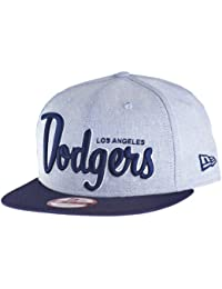 New Era - Casquette Snapback Homme Los Angeles Dodgers 9Fifty Retro Scholar - Blue