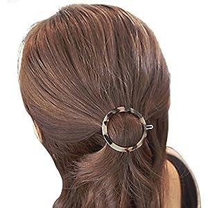 Dayiss Damen geometrische Haarspange Leopard Haarklammer Haarclip Haarklemme Spange Hair Barrette