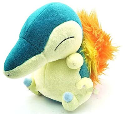 "Pokemon Diamond And Pearl Plush Toy - 7"" Cyndaquil Soft Toy Doll by Halie de ToyCenter"