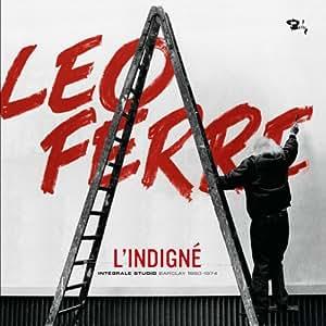L'Indigné - Intégrale Studio - Barclay 1960 - 1974 (Coffret 20 CD)