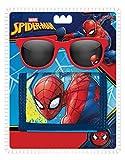 Disney - Spiderman Set Lunettes De Soleil + Porte Feuille, MV15382