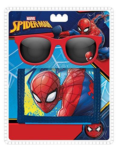 Kids Spiderman Monedero, 49 cm, Azul Kids