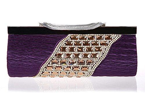 borsa diamante semplificata/Frizione di lusso/Di alta qualità per banchetti/borse da sera Ms./pacchetto nuziale-E C