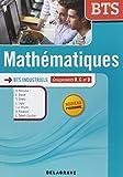Mathématiques BTS industriels : Groupements B, C et D