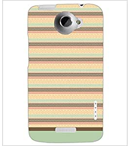 HTC ONE X PATTERN Designer Back Cover Case By PRINTSWAG