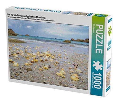 Preisvergleich Produktbild Die für die Bretagne typischen Muscheln 1000 Teile Puzzle quer (CALVENDO Orte)