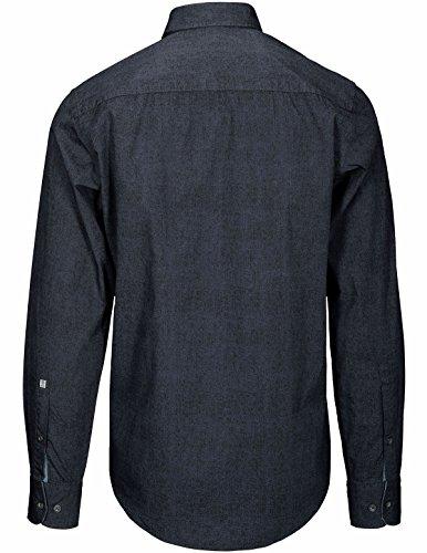 Basefield Herren Freizeithemd Modern Fit - Dusty Navy (219011373) 607 DUSTY NAVY