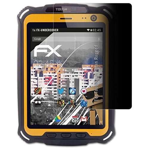atFolix Blickschutzfilter kompatibel mit ToughGear Titan Rugged Blickschutzfolie, 4-Wege Sichtschutz FX Schutzfolie