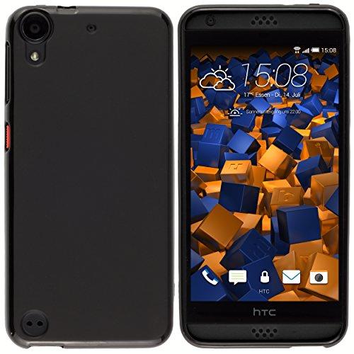 mumbi Hülle kompatibel mit HTC Desire 626G, schwarz