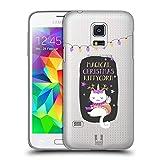 Head Case Designs Caticorn Magische Weihnachten Ruckseite Hülle für Samsung Galaxy S5 Mini