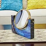 Dressing Spiegel Ornamente Achat Steinmuster Amerikanischen Stil