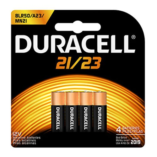 CopperTop Alkaline Batteries with Duralock, 12V, 4/Pk, Sold as 1 Package Duracell Coppertop 9v Batterien