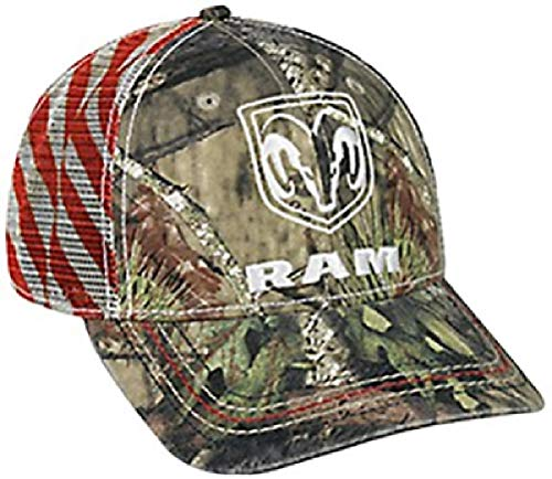 daa41fc6cf835 Dodge Ram Mossy Oak país Americana patriótica sombrero Cap