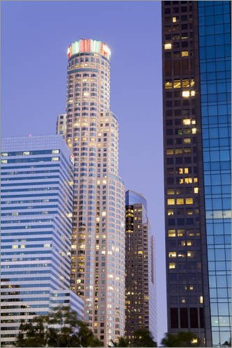poster-20-x-30-cm-us-bank-tower-in-los-angeles-california-united-states-of-america-north-america-von