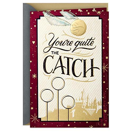(Hallmark Harry Potter Valentinstagskarte für bedeutende andere (Golden Snitch))