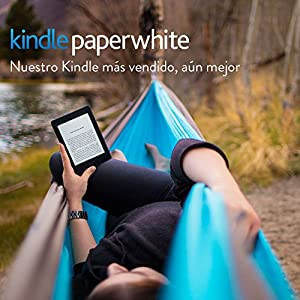 """E-reader Kindle Paperwhite reacondicionado certificado, pantalla de 6"""" (15,2 cm) de alta resolución (300 ppp) con luz integrada, wifi (Blanco) - incluye ofertas especiales - 7.ª generación (generación anterior)"""