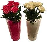 8000 Stück / 20Liter Wasser Kugeln Gel Bälle CHRISTAL ERDE CHRYSTAL Perlen Vasen Dekoration 11-15mm Durchmesser / 200Gramm – Pflanzen Blumen Wasserspender Raumbefeuchter KRISTALL (Transparent) - 5