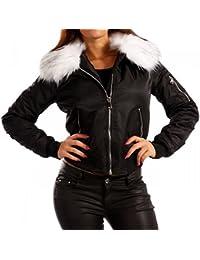 Young-Fashion Women's Blouse Plain Long Sleeve Jacket