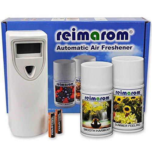 Duft Starter Set Enjoy mit Aerosol Duftspender und 2 Raumsprays zur Aromatisierung