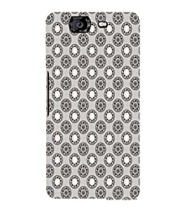 EPICCASE techno rings Mobile Back Case Cover For Micromax Canvas Knight A350 (Designer Case)