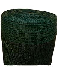 Schattiernetz Zaunblende Tennisblende Windschutznetz Sichtschutzzaun verschiedene Stärken und Längen (12m, grün 150g 2m breit)