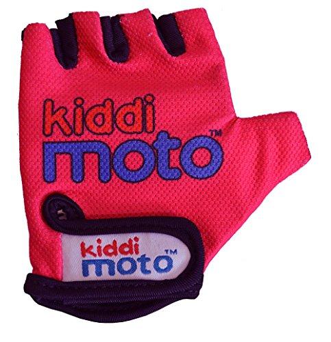 Kiddimoto Kinder Fahrrad Handschuhe Gr.S Glv018 neon pink 2 Jahre