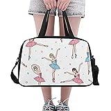 Baile ballet Elegante grande yoga gimnasio bolsas bolsos fitness bolsas viaje bolsa zapatos correa para el hombro bolsa deporte para hacer ejercicio equipaje para niña hombres mujeres al aire libre