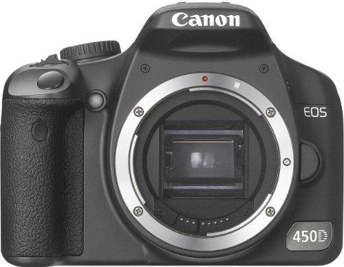 Canon EOS 450D - Cámara Réflex Digital 12.2 MP (Cuerpo)