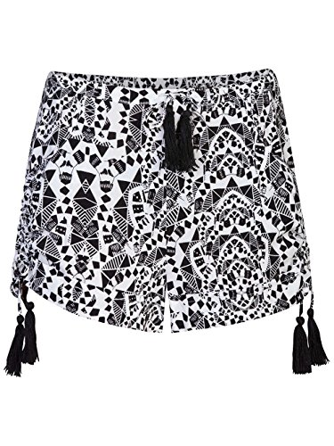Hurley Damen Shorts Rio Walk Shorts (Weiß Hurley Shorts)