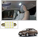 #3: Vheelocityin 16 SMD LED Roof Light White Dome Light for Maruti Suzuki Ciaz