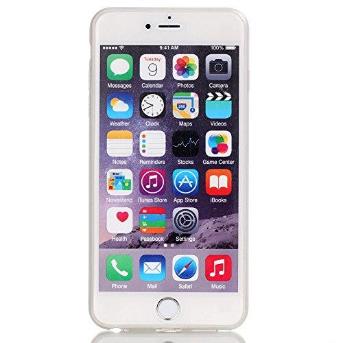 Voguecase® Pour Apple iPhone 6/6S 4.7, Noctilucent TPU Silicone Shell Housse Coque Étui Case Cover (Stripe/ancre)+ Gratuit stylet l'écran aléatoire universelle Piano chat