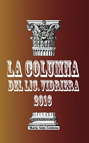 la-columna-del-lic-vidriera-2016-spanish-edition