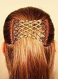 Mebella Magic Haar-Clips, dehnbarer, doppelter Kamm für verschiedene Haarstile