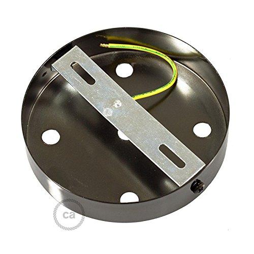 a30cbae577212 Preiswert Set Baldachin 5-Bohrlöcher Zylinder Metallic Schwarz 120mm ...