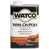 Rust-Oleum 68041 Watco Wipe-On Poly - Protective Clear Polyurethane Finish/Varnish (Gloss - 947 ML)