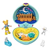 Polly Pocket GFM51 Teeny Tot Nursery Compact, Micro Dolls & Accessories, Multicoloured
