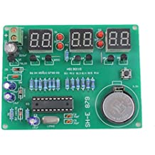 6 Digital-LED -elektronischer Taktgeber DIY Kit Parts Komponenten 9V - 12V AT89C2051