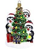 Christbaumschmuck Figuren ( Weihnachtsbaum Pinguine 12cm ) Weihnachtskugeln Weihnachtsbaumschmuck Christbaumkugeln Deko Glas