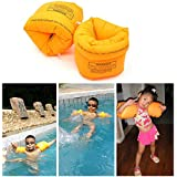 New Trends 2Pcs PVC Men Women Adult Child Safety Training Inflatable Swim Pool Swimming Arm Ring Circle Float Water Air Sleeves For Kids