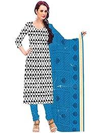Manmandir Cotton Printed Dress Material | Salwar Suit For Women