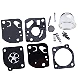 HIPA 12530051030 Kit Joints et Membranes de Carburateur pour Débroussailleuse Coupe-bordure ECHO PE2400 CT2103 SRM2301 SRM2501 SRM2510 SRM2510S