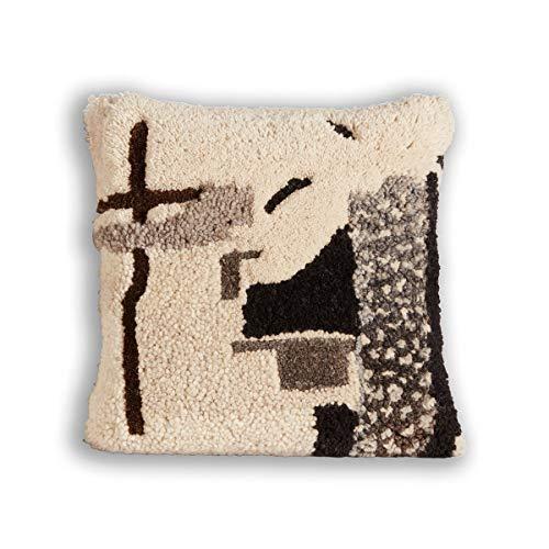 Tom Dixon - Abstract Kissen, 45 x 45 cm, Natural -