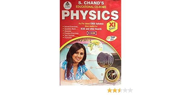 S Chand Class XI Physics CBSE (CD)