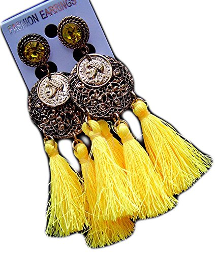 SaySure - Vintage Style Jewels Bride Pendant Earrings 18K Gold Plated