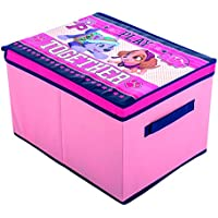Preisvergleich für Paw Patrol Skye Aufbewahrungsbox mit Deckel & Griff 40x 30x 25?Pink Kinder Spielzeug Aufbewahrungsbox